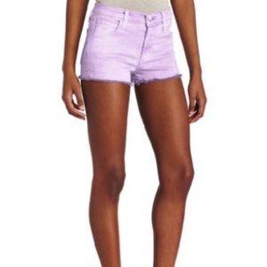 Joe's Jeans Cut Off Shorts In Purple - NWOT